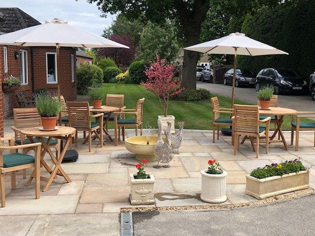 Ivy Lodge Retirement Home - Patio Area