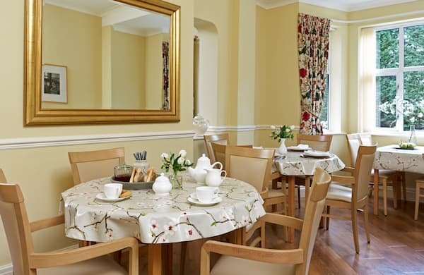 Ivy Lodge Retirement Home Dining Room 4