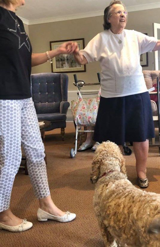 Ivy Lodge Retirement Home - Dancing